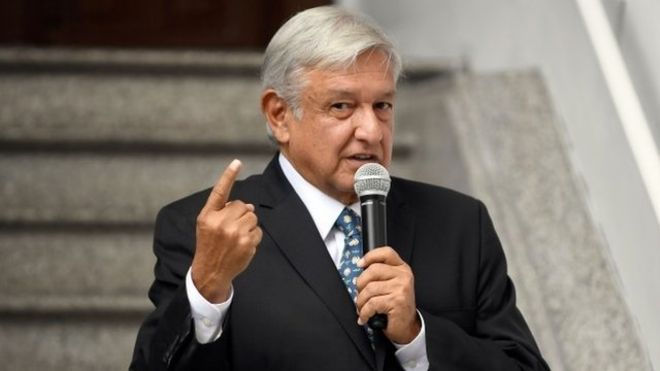 """Pide AMLO a los sindicatos: """"serénense"""""""