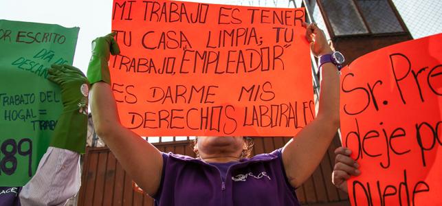 Piden defender libertad sindical