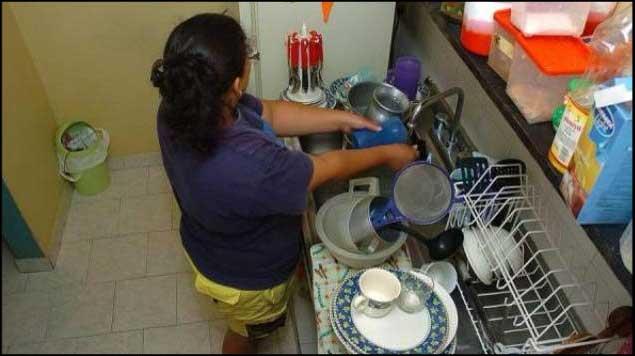 Piden remunerar trabajo doméstico