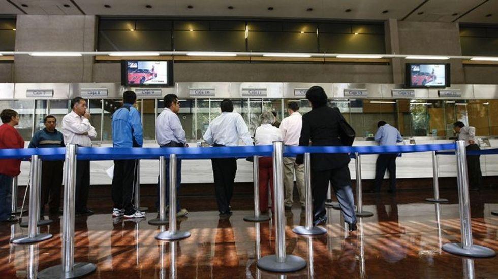 Plantilla laboral de la banca se reestructura