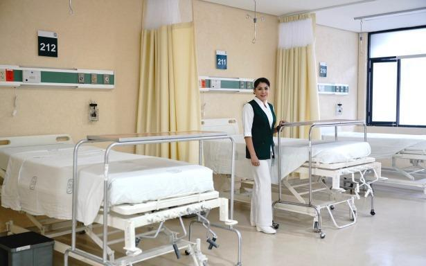 Ponen en operación Módulo Hospitalario Temporal en la UMF No.6 en Puebla