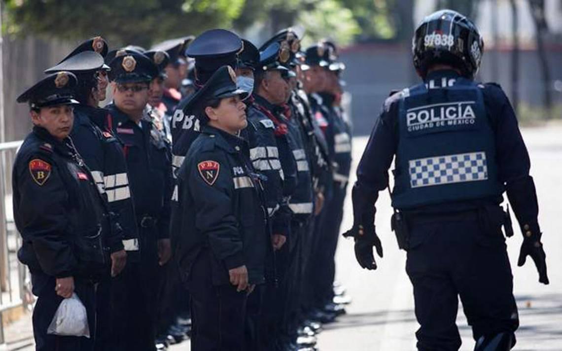 PRD busca salario 'parejo' para policías en todo el país