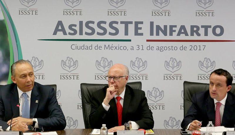 Prensentan AsISSSTE Infarto, aplicación para reducir muertes