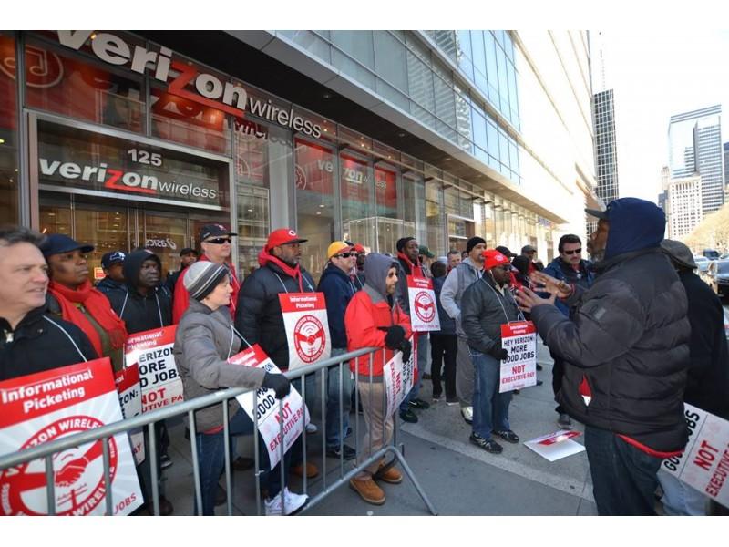 Preocupa huelga en Verizon