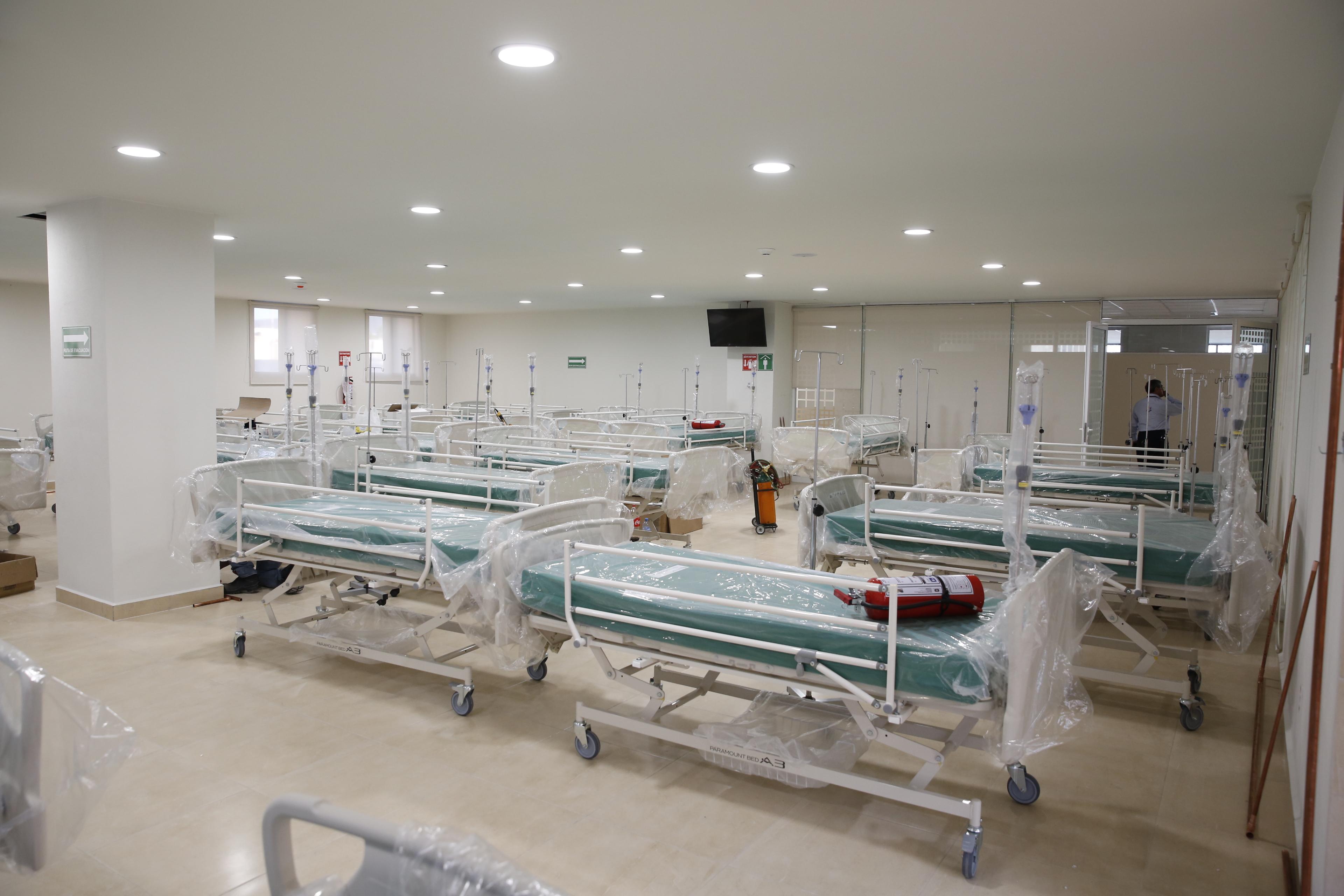 Preparan hospitales para operación extraordinaria