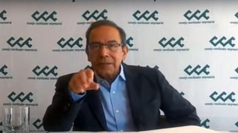 """Propone CCE a senadores revivir """"tripartismo"""" para reactivar economía tras pandemia"""