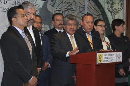 Propone PRD aumentar el Impuesto Sobre la Renta