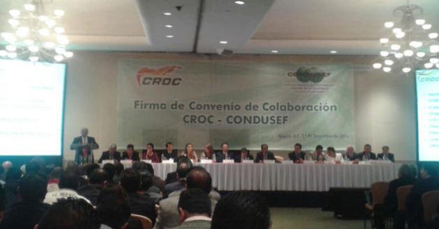 Protege CROC a trabajadores de abusos financieros
