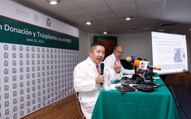 Realiza IMSS 2 mil 751 trasplantes en 2016