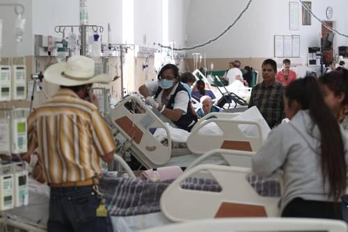Rebasadas en Jalisco las Instituciones de salud