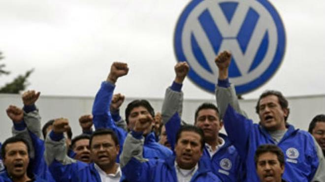 Rechazan flexibilidad laboral en VW