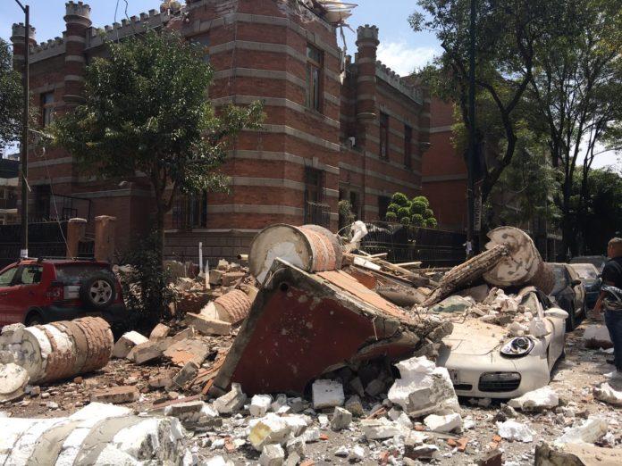 Recibe IMSS 136 personas heridas por sismo; no reporta muertos