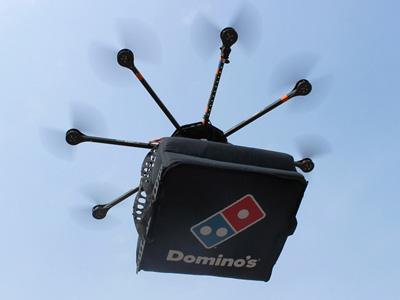 ¿Repartidores de pizza por drones?... hacia allá vamos