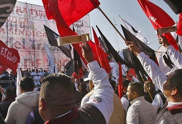 Reportan aumento de activismo sindical y número de huelgas en México
