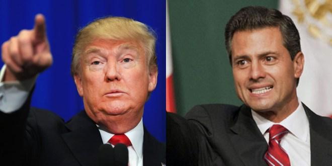 """Responde EPN a Trump: """"No pagaremos el muro"""""""