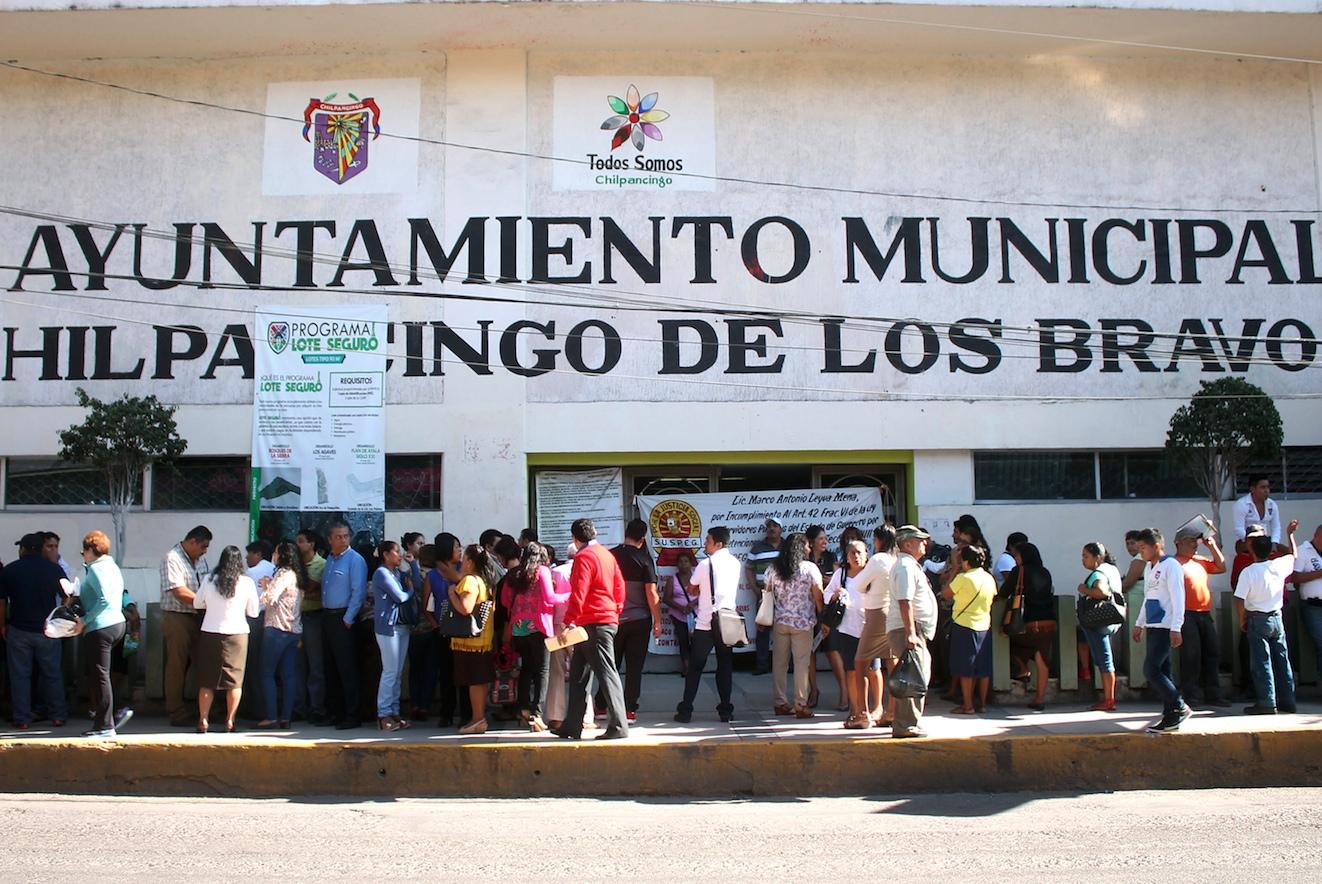 Retrasan pagos a empleados de la alcaldía de Chilpancingo