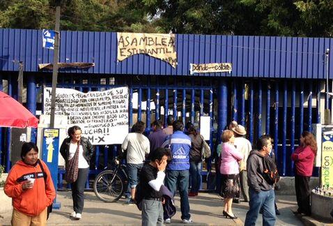 Revienta Situam paro en la UAM en apoyo al CNTE