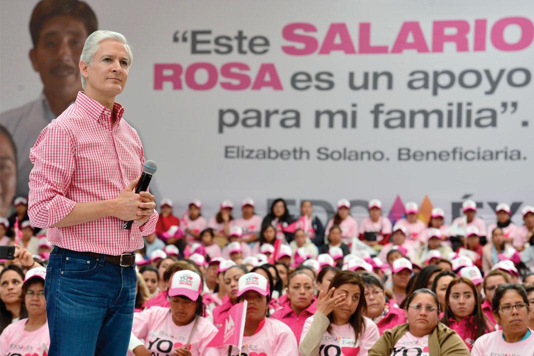 Salario Rosa llegó para quedarse: Del Mazo