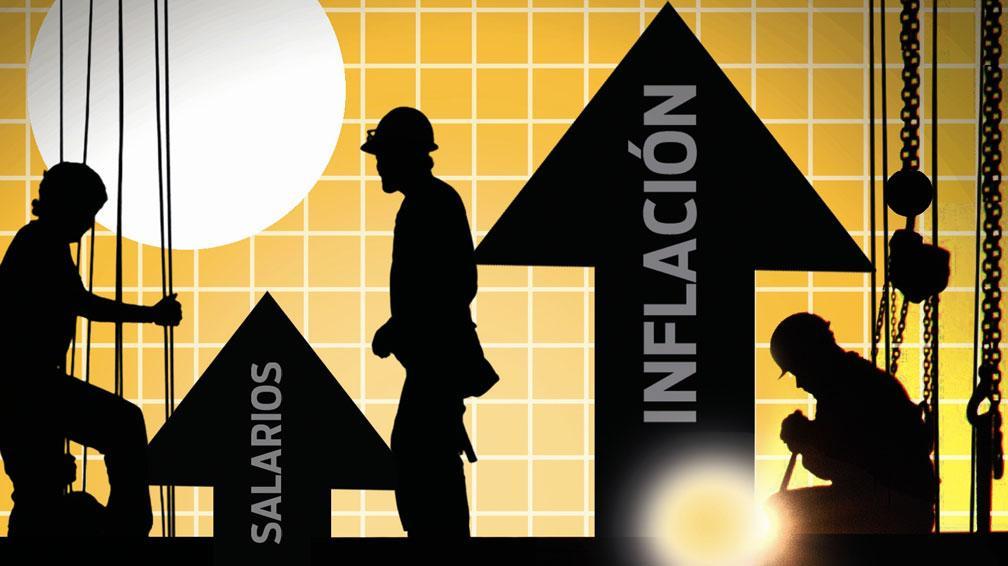Salario tiene alza récord pero por la inflación ni se siente