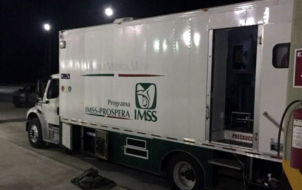 Se desmarca IMSS de vehículo asegurado repleto de droga