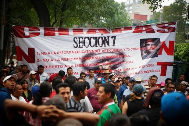 Se valentonan maestros en Chiapas