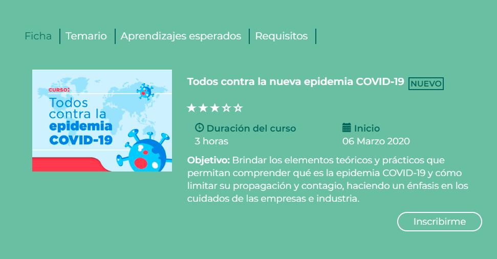 Secretaría de Salud presenta curso en línea para informar sobre el coronavirus