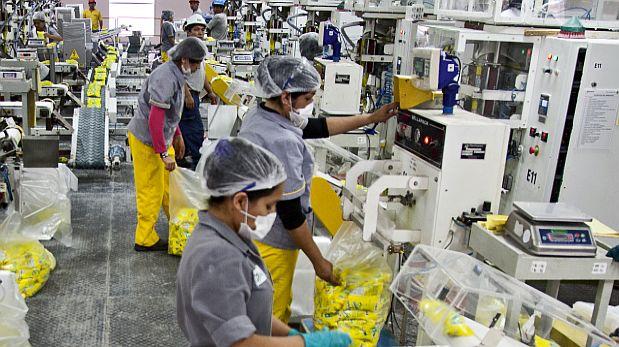 Sector secundario lastra indicador de productividad