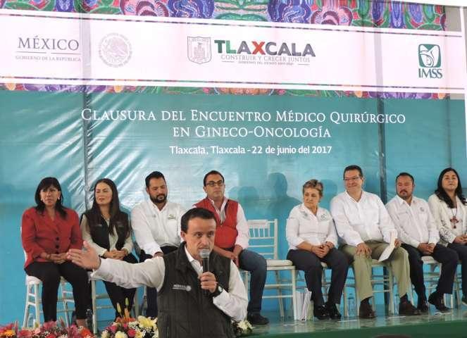Seguro Social anuncia inversión de 150 mdp para infraestructura en Tlaxcala