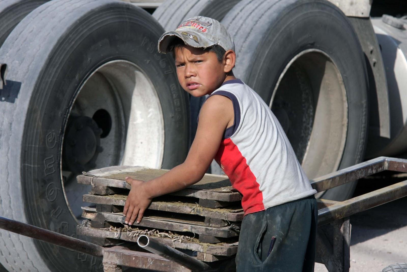 Señala CEPAL a México como líder en trabajo infantil