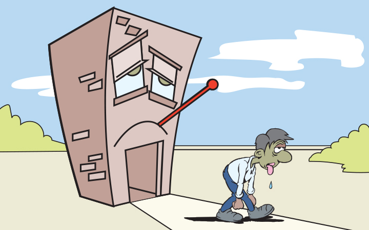 Síndrome del edificio enfermo, un problema los 365 días del año