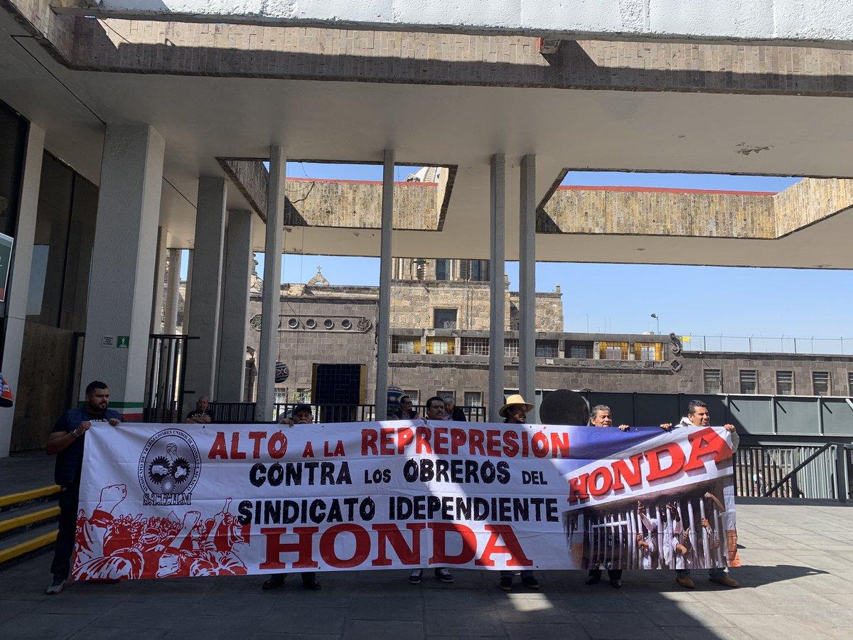 Suplican a AMLO clemencia sindicato de Honda