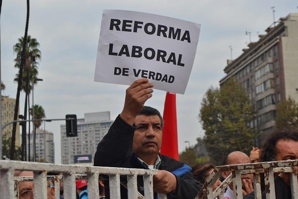 Tensión en Chile por reforma laboral