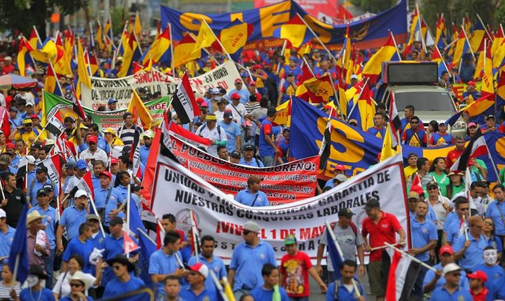Trabajadores del mundo dicen: ¡Basta!