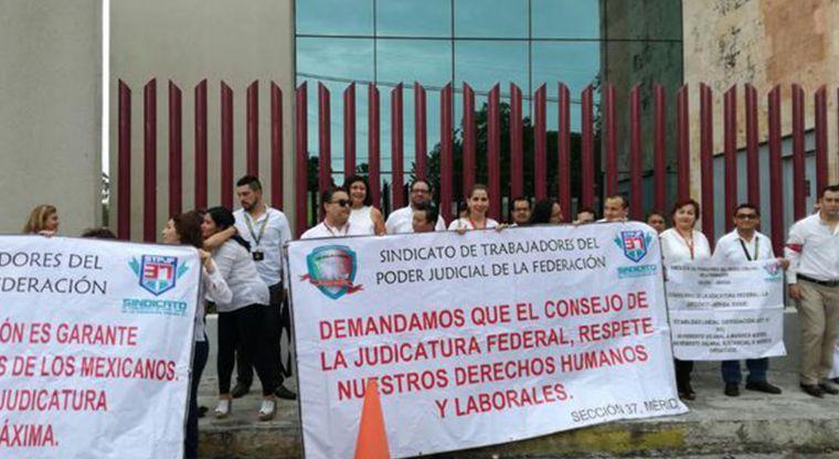 Trabajadores del Poder Judicial denuncian abusos laborales del Consejo de la Judicatura