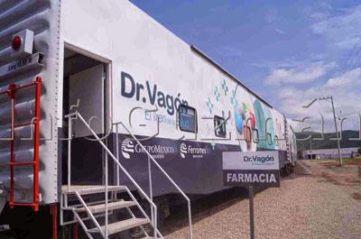 Tren de la Salud atenderá a comunidades en Puebla