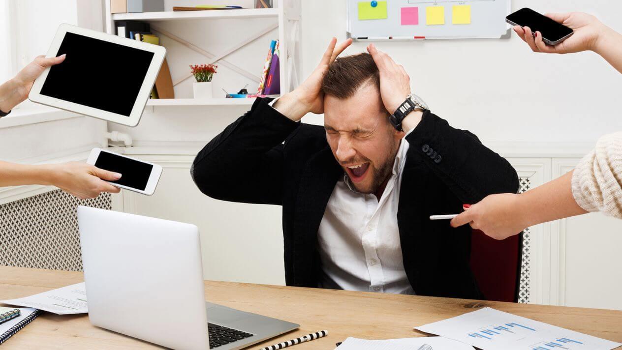 Tres formas de aliviar el estrés laboral
