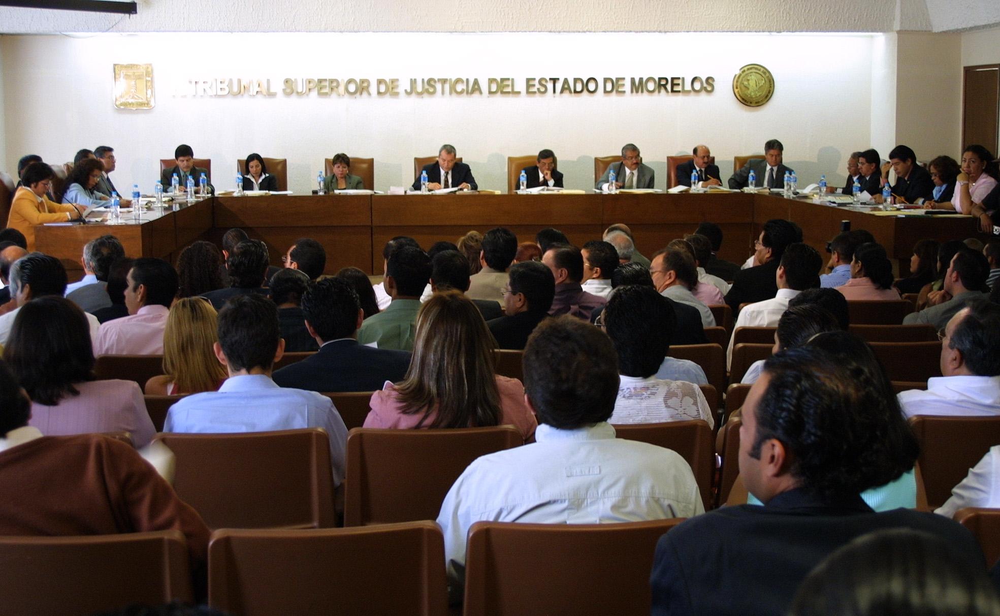 TSJ- Morelos, plagado de familiares y amigos de los magistrados