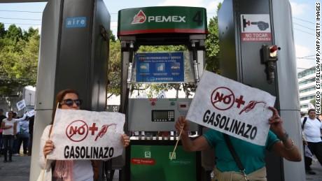 Un atentado a las familias el aumento a gasolinas