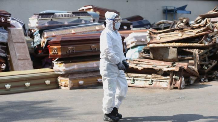 Van 10,637, tras registrarse 470 decesos más en México