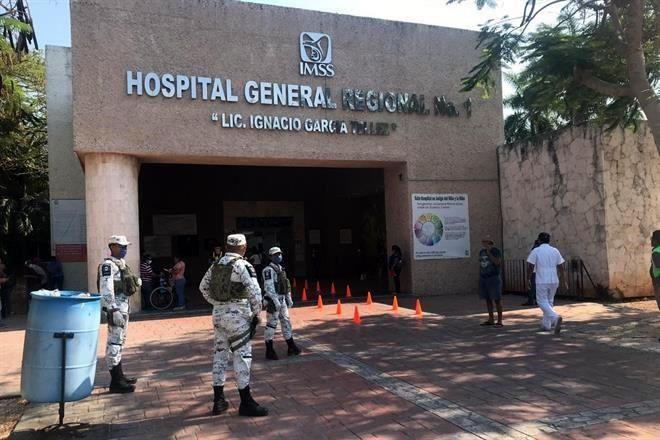 Vigila Guardia Nacional 84 hospitales de IMSS