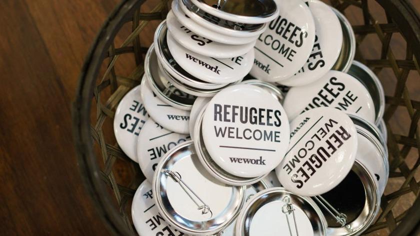 WeWork busca contratar a 1,500 refugiados en Brasil, Colombia y México