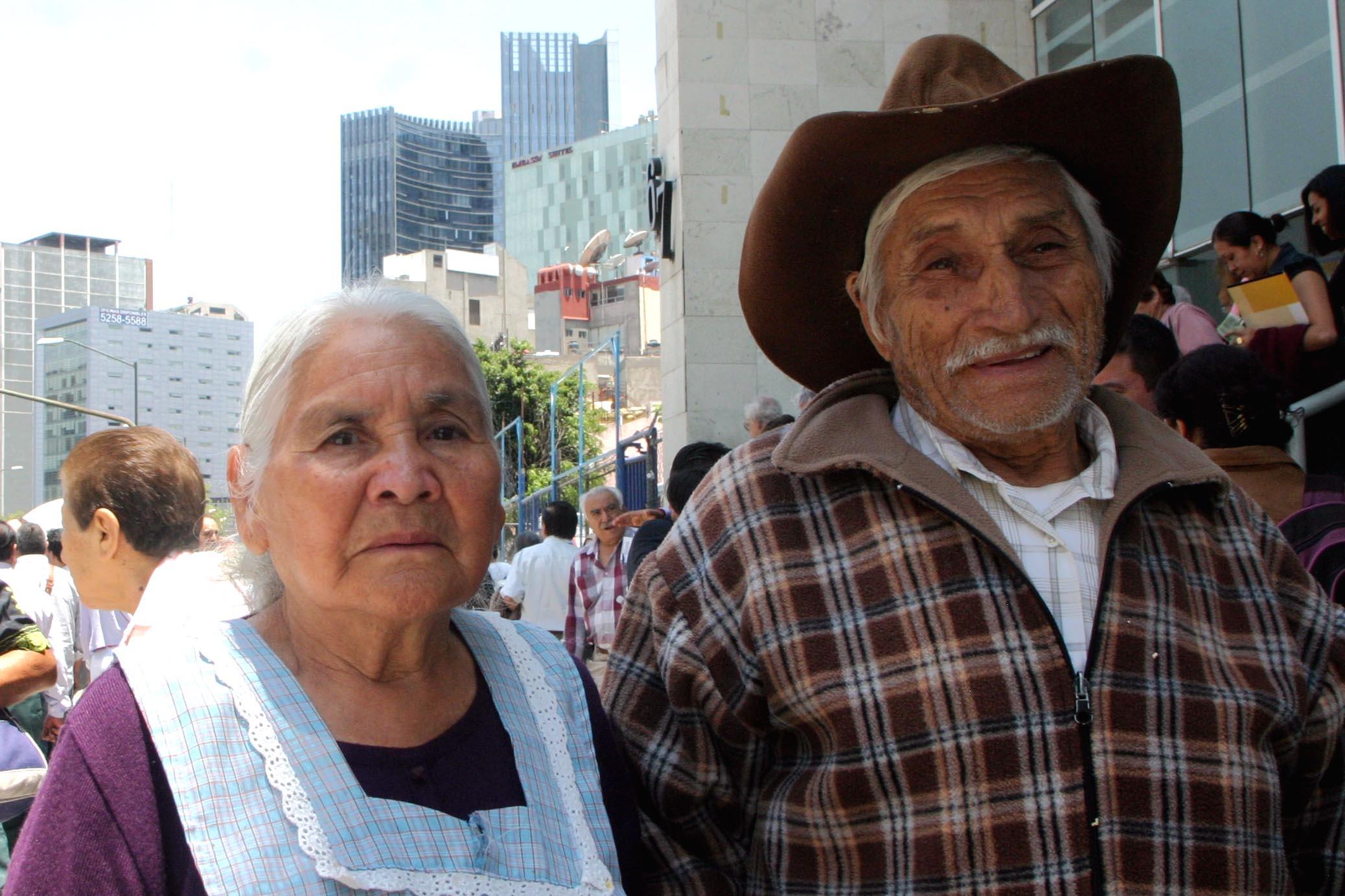26% adultos mayores carece de pensión