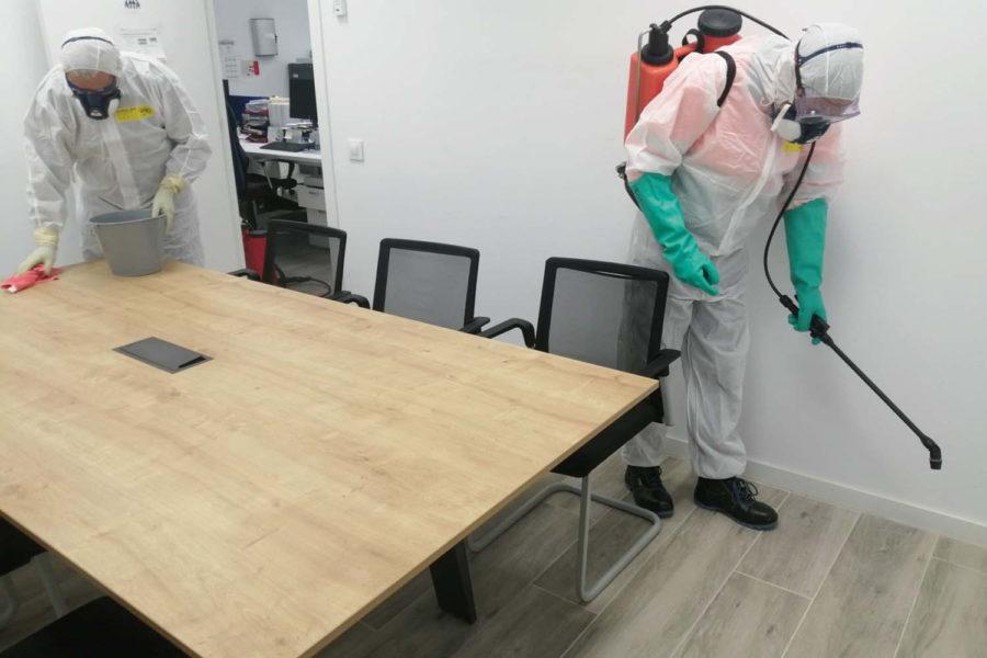 Aprietan a empresas gastos de limpieza por Covid-19