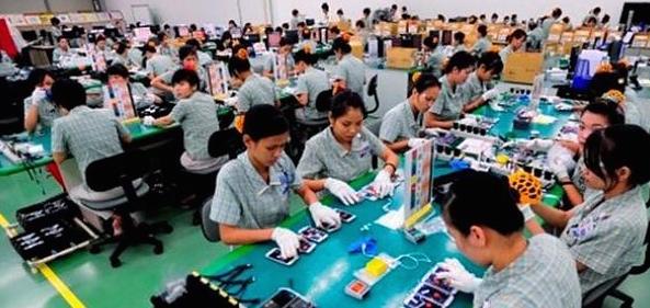 Brecha salarial entre México y China es de 43%