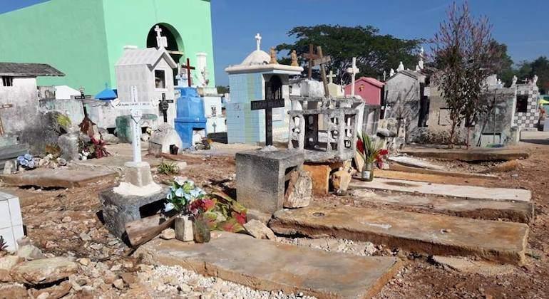 Cementerios de zona metropolitana de la CDMX  tienen una disponibilidad del 16.7 %