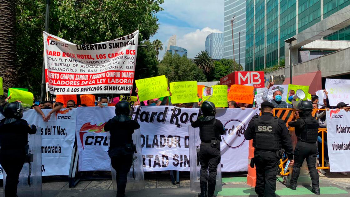 CROC demanda intervención de agregados laborales de EU por violación a derechos laborales