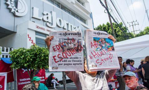 Deciden hoy huelga en La Jornada