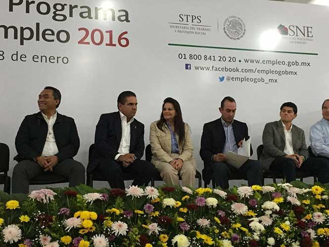 En marcha programa de apoyo al empleo 2016