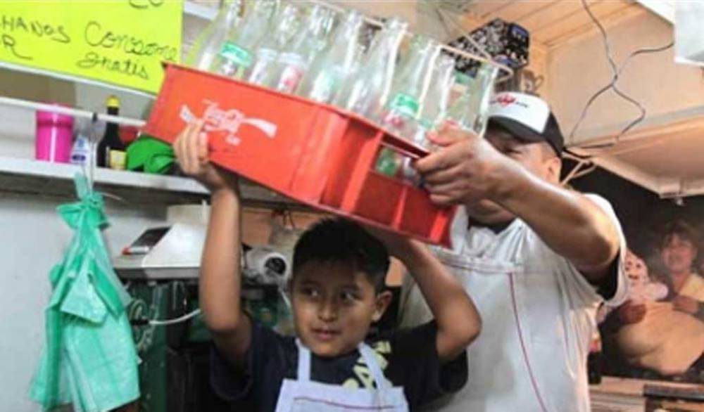 En México, 2.5 millones de menores realizan actividades económicas