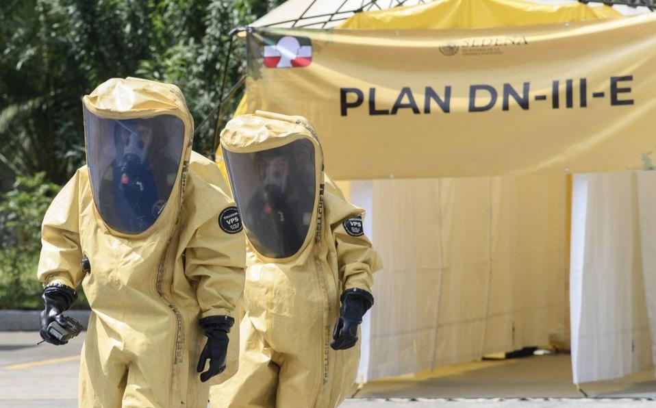 Entran hoy en operación planes DNIIIE y Marina por coronavirus